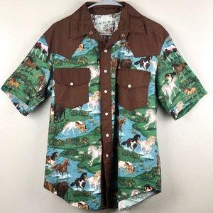 Button Up Western Shirt